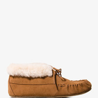 Suede Moccasins | FOREVER 21 - 2042273964