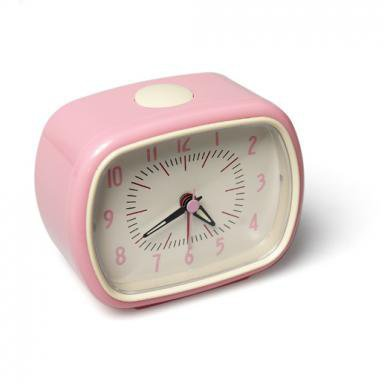 Pink Bake-a-like Alarm Clock