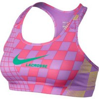 Nike Women&#x27;s LAX Printed Pro Bra - Dick&#x27;s Sporting Goods
