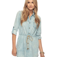 Life In Progress Drawstring Tunic | FOREVER21 - 2000028229