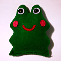 Felt Stuffed Doll - Mr. Froggy