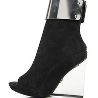 Jeffrey Campbell Shoe Metal Cuff in Black