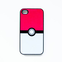 Pokeball iPhone 4 Case New iPhone 4 &amp; iPhone 4s by afterimages