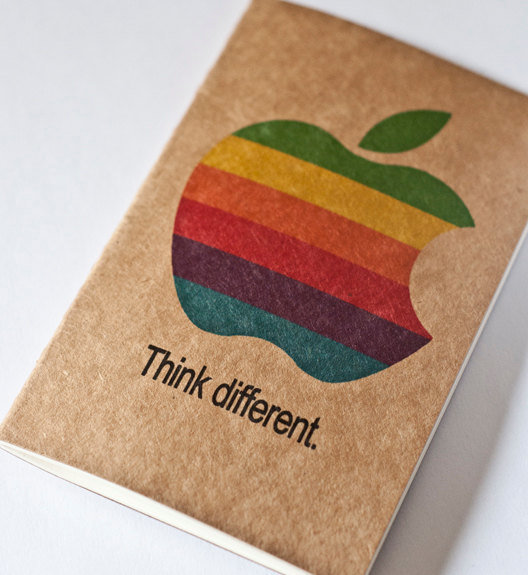 Apple Think different Moleskine Cahier iMac by JulienDenoyer
