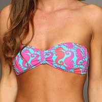 O'Neill Painted Bandeau Top Multi Printed Desert - Zappos.com Free Shipping BOTH Ways