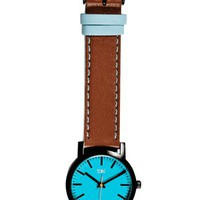 Taki Nicollet Watch, Brown - The Afternoon