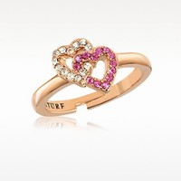 Juicy Couture Pave Heart Ring | FORZIERI