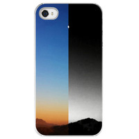 iPhone 4 /4S case Night and Day moon gift by SkyeZPhotography