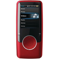 4 Gb Mp3 And Mp4 Player With Fm Radio (Red) from Jannie's LiveDeals