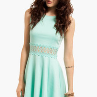 Lace to Waist Dress $46
