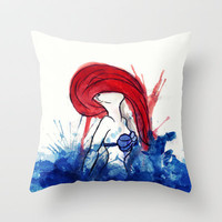 it&#x27;s okay to shine? Throw Pillow by Sara Eshak