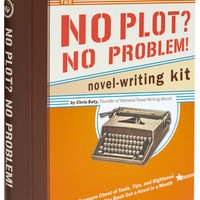 No Plot, No Problem Novel Writing Kit | Mod Retro Vintage Books | ModCloth.com