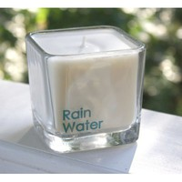 Rain Water Soy Candle, 12 oz