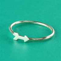 Arrow Stacking Ring - Spiffing Jewelry