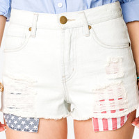 Americana Denim Cutoffs