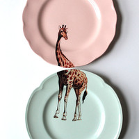 Giraffe plates