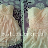 2013 style Glamorous Chiffon Short Prom Dresses from fashionforgirls