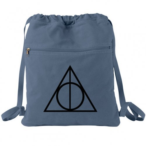 deathly hallows backpack harry potter from bagnabit the. Black Bedroom Furniture Sets. Home Design Ideas