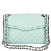 Rebecca Minkoff Mini Affair Quilted Mint Bag
