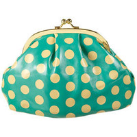 Spot Frame Makeup Bag