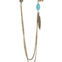Tribal Chain Cuff Earring | FOREVER21 - 1000038494