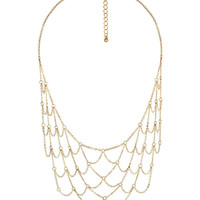 Diamond Pattern Necklace | FOREVER21 - 1000041062