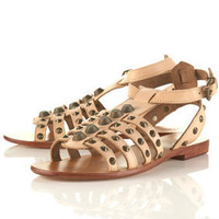 FIERCE Stud Gladiator Sandals - Topshop USA