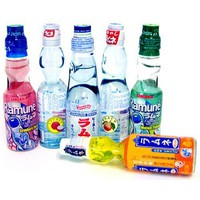 Ramune Japanese Soft Drink Mix Variety 6 Flavors 6 Bottles: Amazon.com: Grocery & Gourmet Food