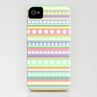 Pastel Pattern iPhone Case