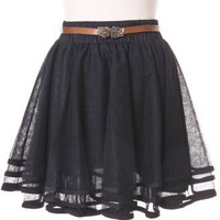 Delicacy Triple Layers Tutu in Black - Bottoms - Retro, Indie and Unique Fashion