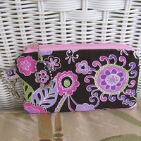 Change Purse Boho Blossom in Orchid by KthysKreations on Etsy