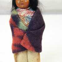Skookum Native American Doll | eBay