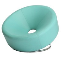 Leather Modern Round Chair