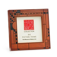 Frank Lloyd Wright Coonley Playhouse Frame Wood 3x3 - Pop! Gift Boutique
