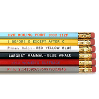 Know-it-all Pencil Set