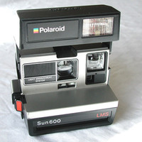 Polaroid SUN 600 LMS Vintage Instant Camera by SunsetSideVintage