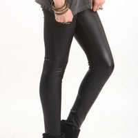 Nollie Faux Leather Leggings at PacSun.com