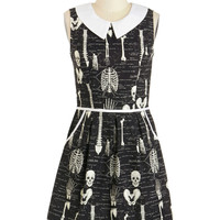 Mid-length Sleeveless A-line Rad to the Bone Dress