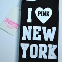 Amazon.com: Victoria's Secret Iphone 5 Case I Pink New York Rare: Cell Phones & Accessories