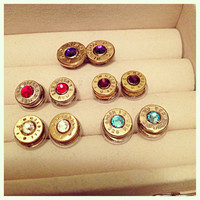 Bullet earrings 223 and 3030 by LJGPhoneCaseDesigns on Etsy