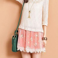 Doll Collar Lace Dress XX0008
