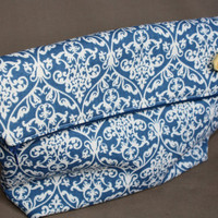 iPad & Tablet Damask Clutch with Removable by AlmquistDesignStudio
