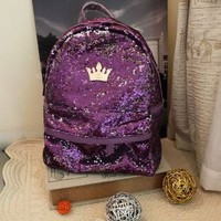 BlingBling Crown Backpack from Hallomall
