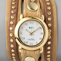 La Mer Collections Bali Stud Wrap Watch | SHOPBOP