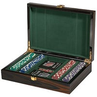 One Kings Lane - Gifts for Him - Ebony Tigerwood Poker Set