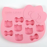 Hello Kitty Die-Cut Ice Cube Tray