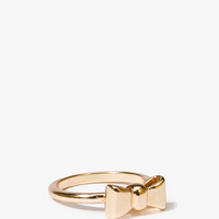 Bow Charm Ring