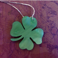 BOGO Blowout Sale ShamROCK N Roll - Green Shamrock STATEment Necklace