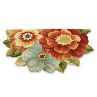 Flower Bouquet Outdoor Mat