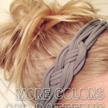 Comfortable Childrens to Adults Recycled Stretch T-shirt Sailor Knot Headbands - Soft elastic no mark photo prop DOLLAR SHIPPING in US